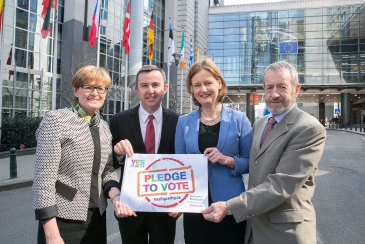 Fine Gael MEPs: Mairead McGuinness, Brian Hayes, Deirdre Clune and Sean Kelly