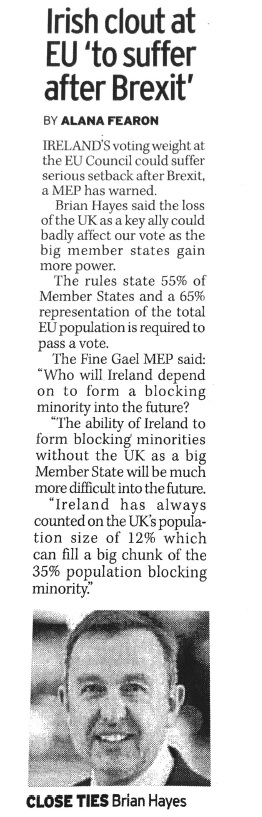Irish clout at EU to suffer after Brexit.jpg