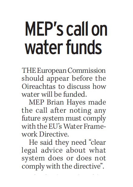13012017-mep-call-on-water-funds