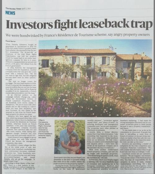 030417 Investors fight leaseback trap